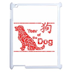 Year Of The Dog   Chinese New Year Apple Ipad 2 Case (white) by Valentinaart
