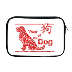 Year Of The Dog   Chinese New Year Apple Macbook Pro 17  Zipper Case by Valentinaart