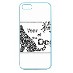 Year Of The Dog   Chinese New Year Apple Seamless Iphone 5 Case (color) by Valentinaart