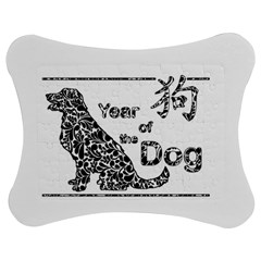 Year Of The Dog   Chinese New Year Jigsaw Puzzle Photo Stand (bow) by Valentinaart