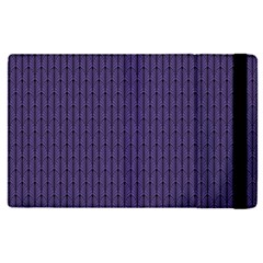 Color Of The Year 2018   Ultraviolet   Art Deco Black Edition Apple Ipad Pro 12 9   Flip Case by tarastyle