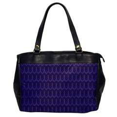 Color Of The Year 2018   Ultraviolet   Art Deco Black Edition Office Handbags by tarastyle