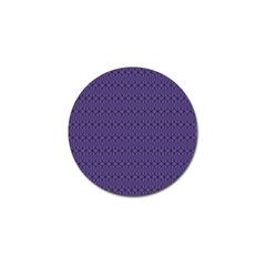 Color Of The Year 2018   Ultraviolet   Art Deco Black Edition 10 Golf Ball Marker by tarastyle