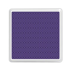 Color Of The Year 2018   Ultraviolet   Art Deco Black Edition 10 Memory Card Reader (square)  by tarastyle