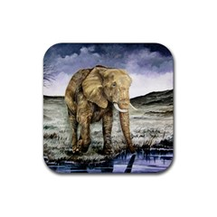 Elephant Rubber Coaster (square)