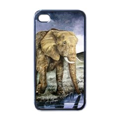 Elephant Apple Iphone 4 Case (black)