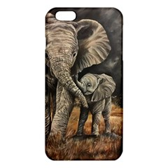 Elephant Mother And Baby Iphone 6 Plus/6s Plus Tpu Case by ArtByThree