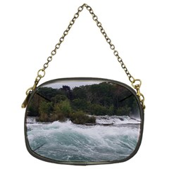 Sightseeing At Niagara Falls Chain Purses (two Sides)  by canvasngiftshop