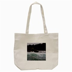 Sightseeing At Niagara Falls Tote Bag (cream) by canvasngiftshop