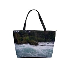 Sightseeing At Niagara Falls Shoulder Handbags by canvasngiftshop