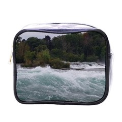 Sightseeing At Niagara Falls Mini Toiletries Bags by canvasngiftshop