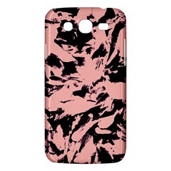 Old Rose Black Abstract Military Camouflage Samsung Galaxy Mega 5 8 I9152 Hardshell Case  by Costasonlineshop