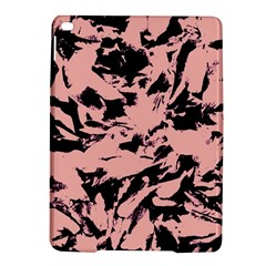 Old Rose Black Abstract Military Camouflage Ipad Air 2 Hardshell Cases by Costasonlineshop