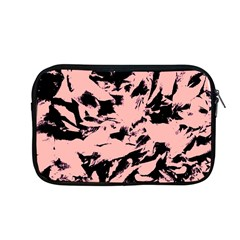 Old Rose Black Abstract Military Camouflage Apple Macbook Pro 13  Zipper Case by Costasonlineshop