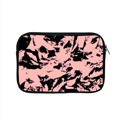 Old Rose Black Abstract Military Camouflage Apple Macbook Pro 15  Zipper Case by Costasonlineshop