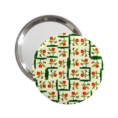 Plants And Flowers 2 25  Handbag Mirrors by linceazul
