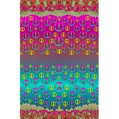 Years Of Peace Living In A Paradise Of Calm And Colors 5 5  X 8 5  Notebooks by pepitasart