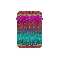 Years Of Peace Living In A Paradise Of Calm And Colors Apple Ipad Mini Protective Soft Cases by pepitasart