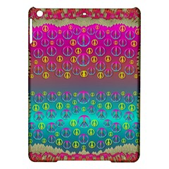 Years Of Peace Living In A Paradise Of Calm And Colors Ipad Air Hardshell Cases by pepitasart