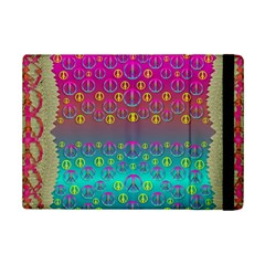 Years Of Peace Living In A Paradise Of Calm And Colors Ipad Mini 2 Flip Cases by pepitasart
