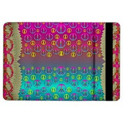 Years Of Peace Living In A Paradise Of Calm And Colors Ipad Air 2 Flip by pepitasart