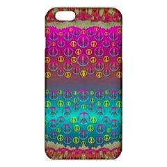 Years Of Peace Living In A Paradise Of Calm And Colors Iphone 6 Plus/6s Plus Tpu Case by pepitasart