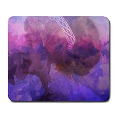 Ultra Violet Dream Girl Large Mousepads by 8fugoso