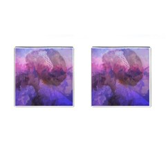 Ultra Violet Dream Girl Cufflinks (square) by 8fugoso