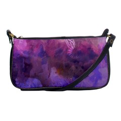 Ultra Violet Dream Girl Shoulder Clutch Bags by 8fugoso