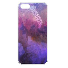 Ultra Violet Dream Girl Apple Iphone 5 Seamless Case (white) by 8fugoso