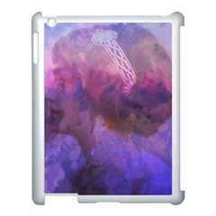 Ultra Violet Dream Girl Apple Ipad 3/4 Case (white) by 8fugoso