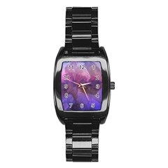 Ultra Violet Dream Girl Stainless Steel Barrel Watch by 8fugoso