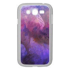 Ultra Violet Dream Girl Samsung Galaxy Grand Duos I9082 Case (white) by 8fugoso