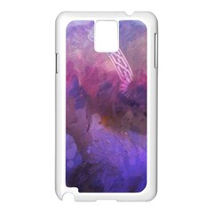 Ultra Violet Dream Girl Samsung Galaxy Note 3 N9005 Case (white) by 8fugoso