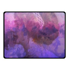 Ultra Violet Dream Girl Double Sided Fleece Blanket (small)  by 8fugoso