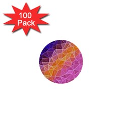 Crystalized Rainbow 1  Mini Buttons (100 Pack)  by 8fugoso