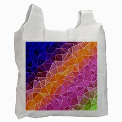 Crystalized Rainbow Recycle Bag (two Side)  by 8fugoso