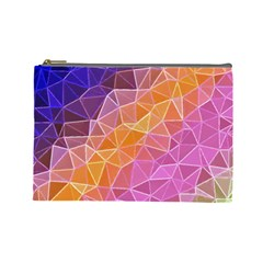 Crystalized Rainbow Cosmetic Bag (large)  by 8fugoso