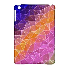 Crystalized Rainbow Apple Ipad Mini Hardshell Case (compatible With Smart Cover) by 8fugoso