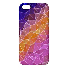 Crystalized Rainbow Apple Iphone 5 Premium Hardshell Case by 8fugoso