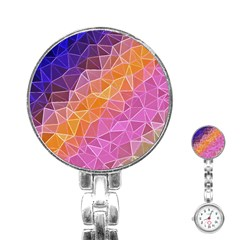 Crystalized Rainbow Stainless Steel Nurses Watch by 8fugoso