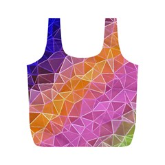 Crystalized Rainbow Full Print Recycle Bags (m)  by 8fugoso