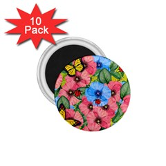 Floral Scene 1 75  Magnets (10 Pack)  by linceazul