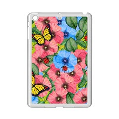 Floral Scene Ipad Mini 2 Enamel Coated Cases by linceazul