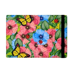 Floral Scene Ipad Mini 2 Flip Cases by linceazul