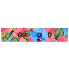 Floral Scene Flano Scarf (small)  by linceazul