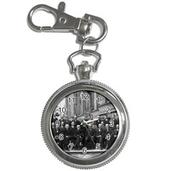 1927 Solvay Conference On Quantum Mechanics Key Chain Watches by thearts
