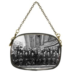 1927 Solvay Conference On Quantum Mechanics Chain Purses (one Side)  by thearts