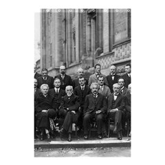 1927 Solvay Conference On Quantum Mechanics Shower Curtain 48  X 72  (small)  by thearts