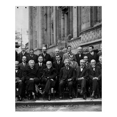 1927 Solvay Conference On Quantum Mechanics Shower Curtain 60  X 72  (medium)  by thearts
